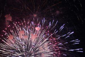 Fireworks, celebrating 2020